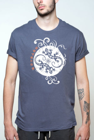 Camiseta hombre singular lagartos