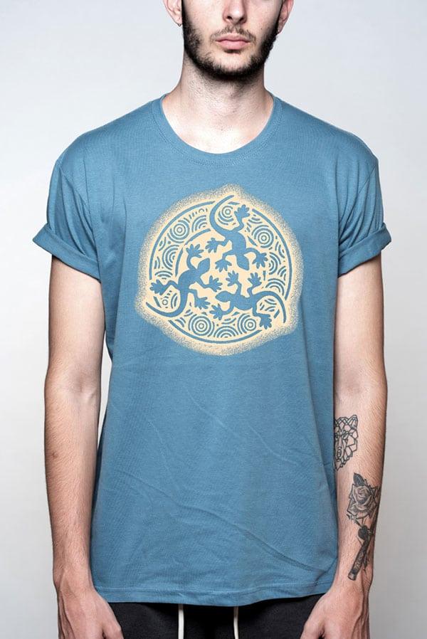 Camiseta hombre original lagartos