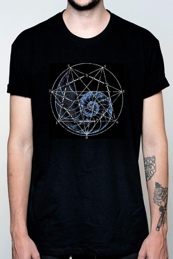 Camiseta hombre marinera caracola