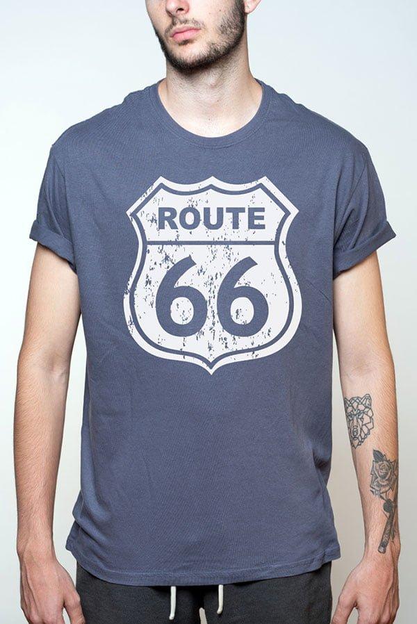 Camiseta hombre Route 66