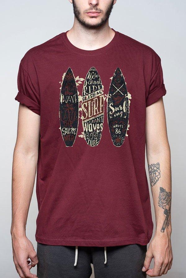 Camiseta hombre surf original
