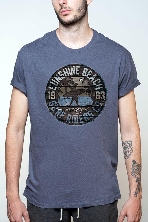 Camiseta hombre surfera original