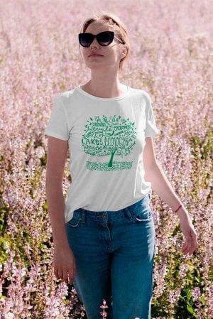 Camiseta algodón orgánico Unisex árbol ecology