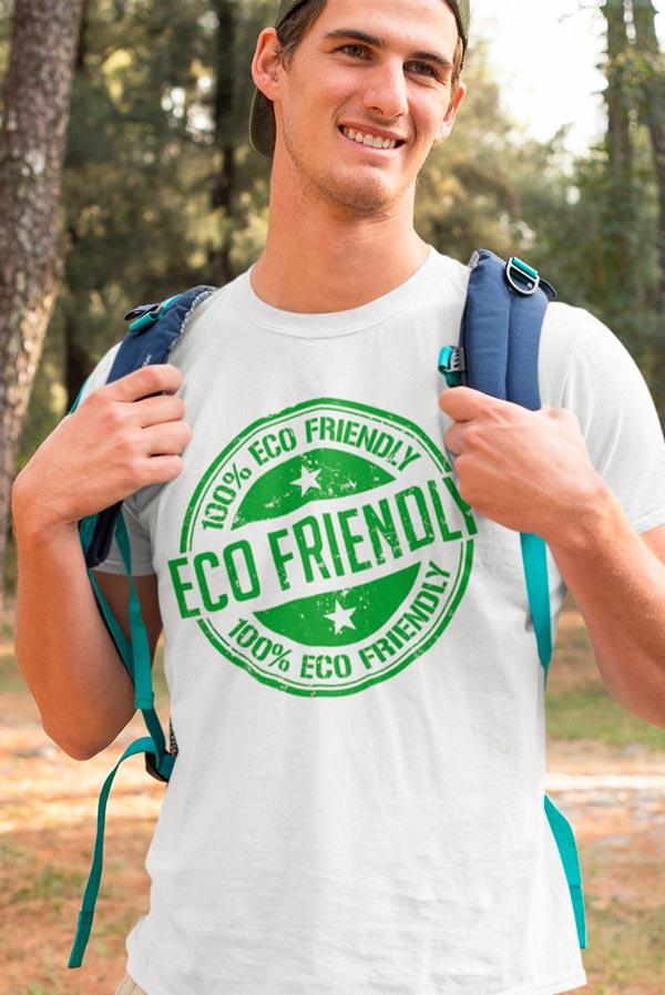 Camiseta algodón orgánico Unisex Eco friendly