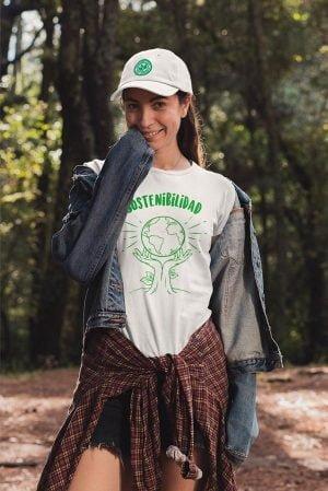 Camiseta algodón orgánico Unisex sostenibilidad