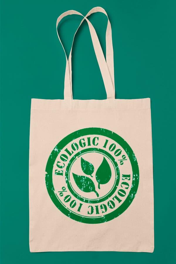 Tote bag tela original 100% ecologic
