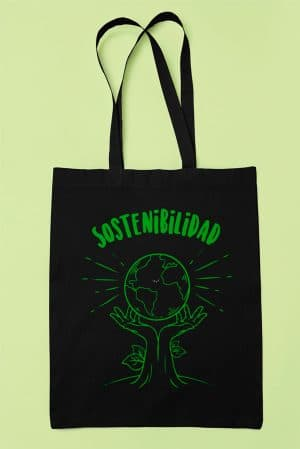 Tote bag tela original sostenibilidad