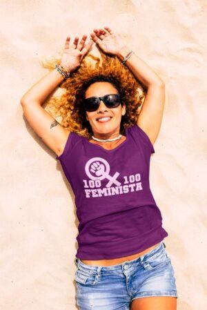Camiseta mujer feminista 8 marzo 100x100 feminista