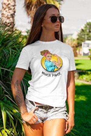 Camiseta mujer feminista women power