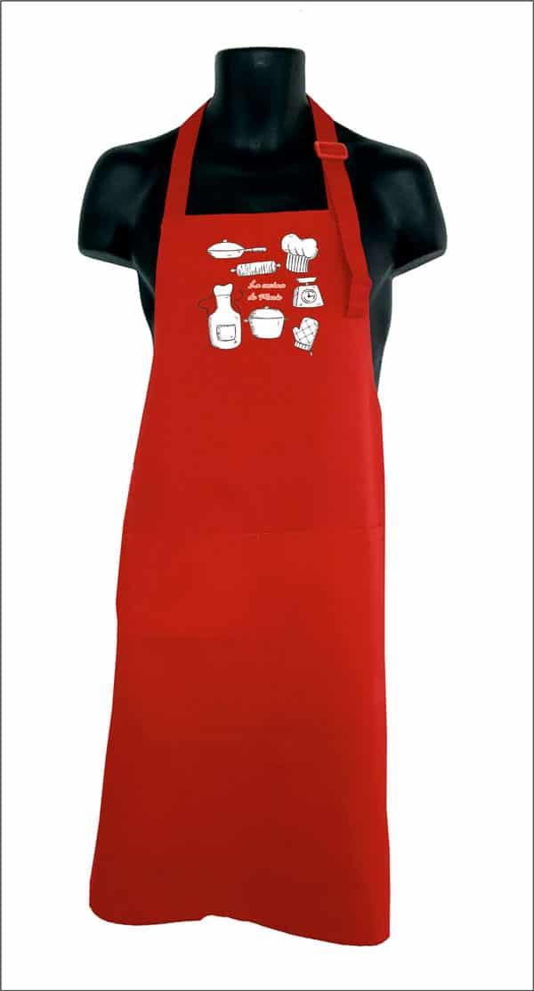 delantal de cocina original nombre personalizado