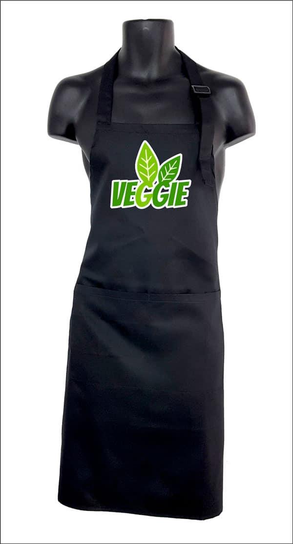 delantal de cocina original veggie