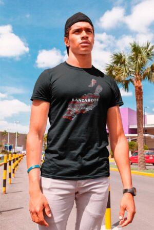 Camiseta canaria diseño original Lanzarote