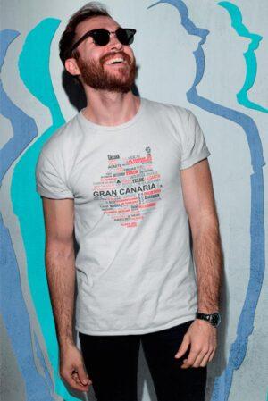 Camiseta diseño original Gran Canaria
