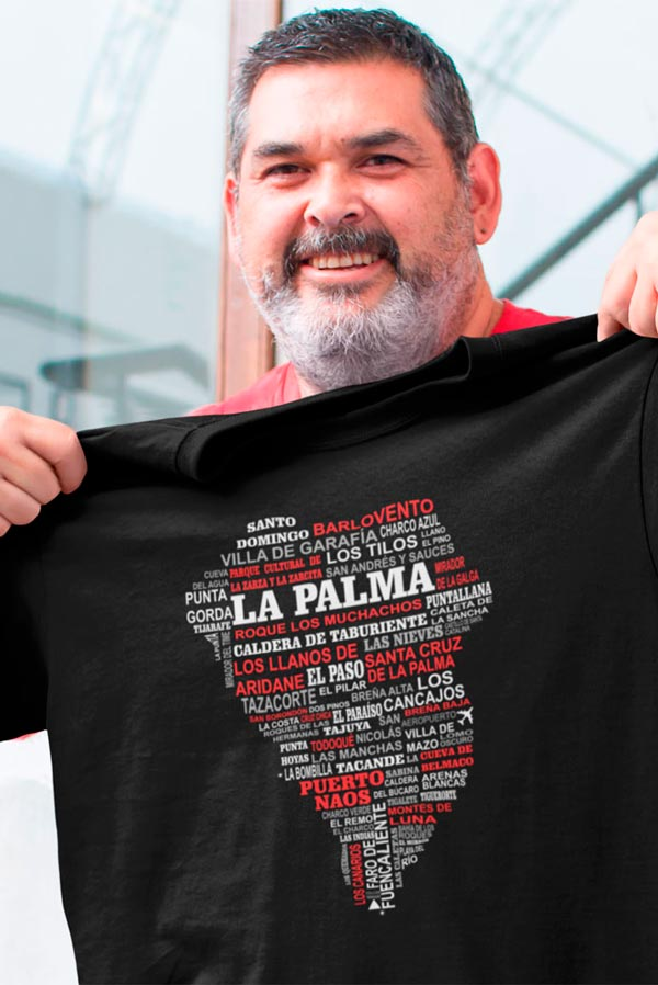 Camiseta diseño original La Palma