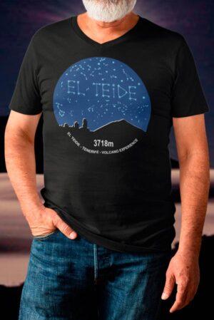 Camiseta hombre volcano Teide Tenerife